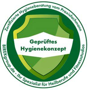 Siegel Hygienekonzept